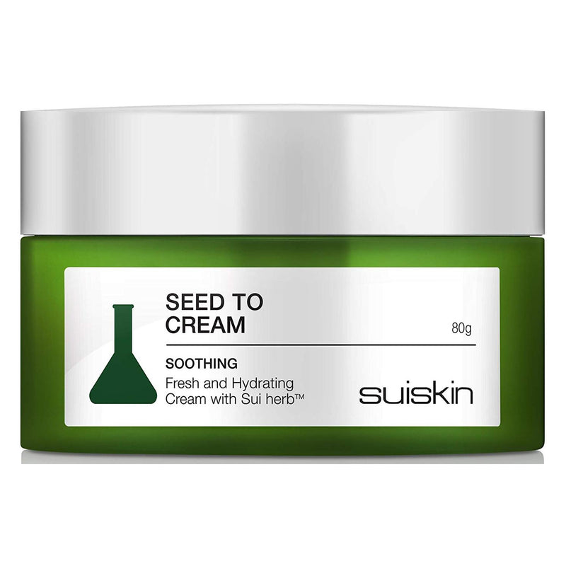 [SUISKIN] 100% Natural Daily Skin Moisturizer Herbal Skin Soothing, Nourishing Facial Care