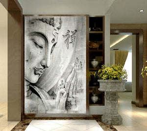 HD Buddha Painting On Canvas-USmeditate