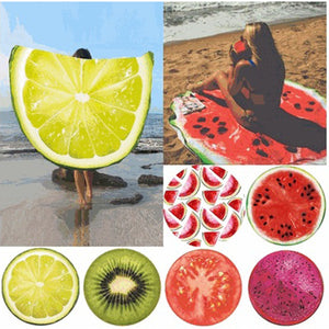 Fruit Pattern Mat- Blanket-USmeditate