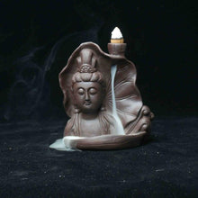 Buddha Sandalwood Backflow Incense Burner Avalokiteshvara-USmeditate