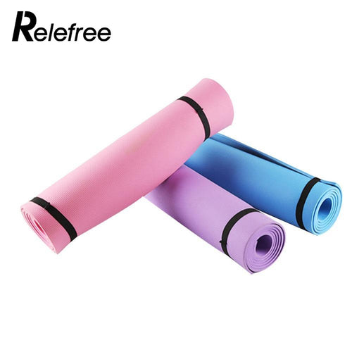 Thick Yoga Mat Exercise Pad Non-slip Folding Lose Weight Gym Fitness Mat Gymnastics Mat-USmeditate