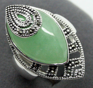 RARE GREEN HANDCRAFTED RING-USmeditate