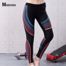 Printed Sports Leggings High Waist Fitness Yoga Pants-USmeditate
