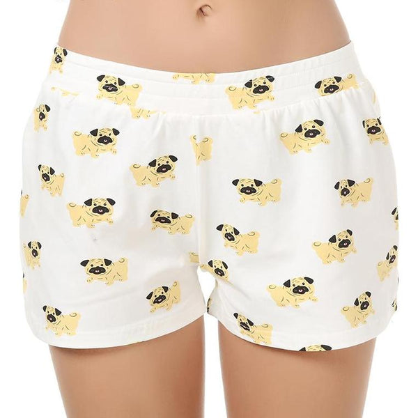 Pug Sleep Shorts