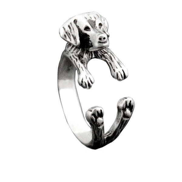 Labrador Retriever Wrap-Around Hug Ring
