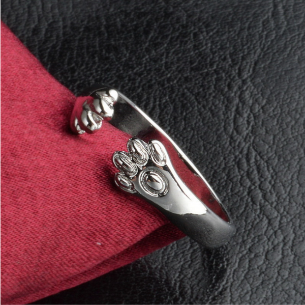 Dog and Cat Paw Ring