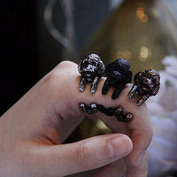Poodle Wrap-Around Hug Ring