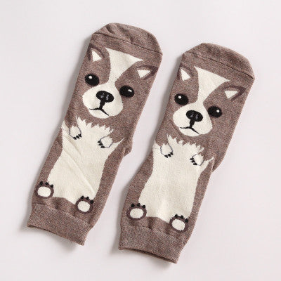 Welsh Corgi Crew Socks