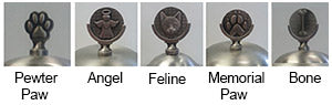 Optional Finials