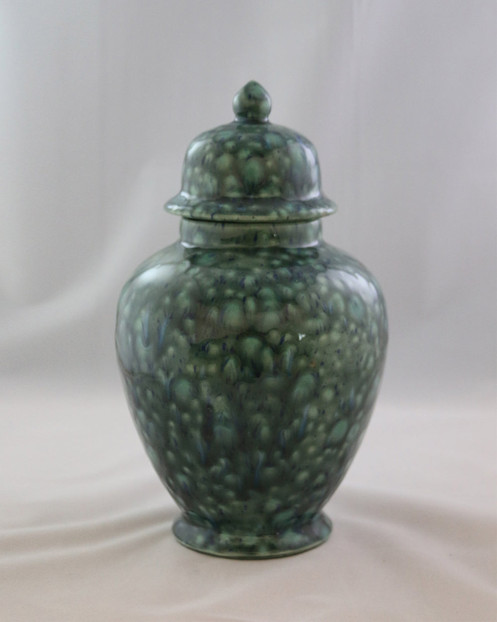 Hancrafted Ceramic Urn - Azure - Large