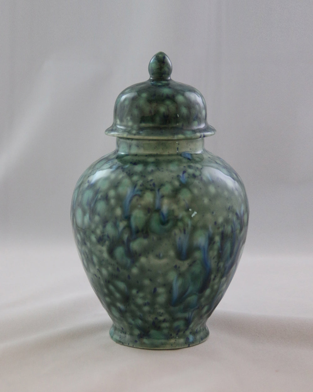 Hancrafted Ceramic Urn - Azure - Medium