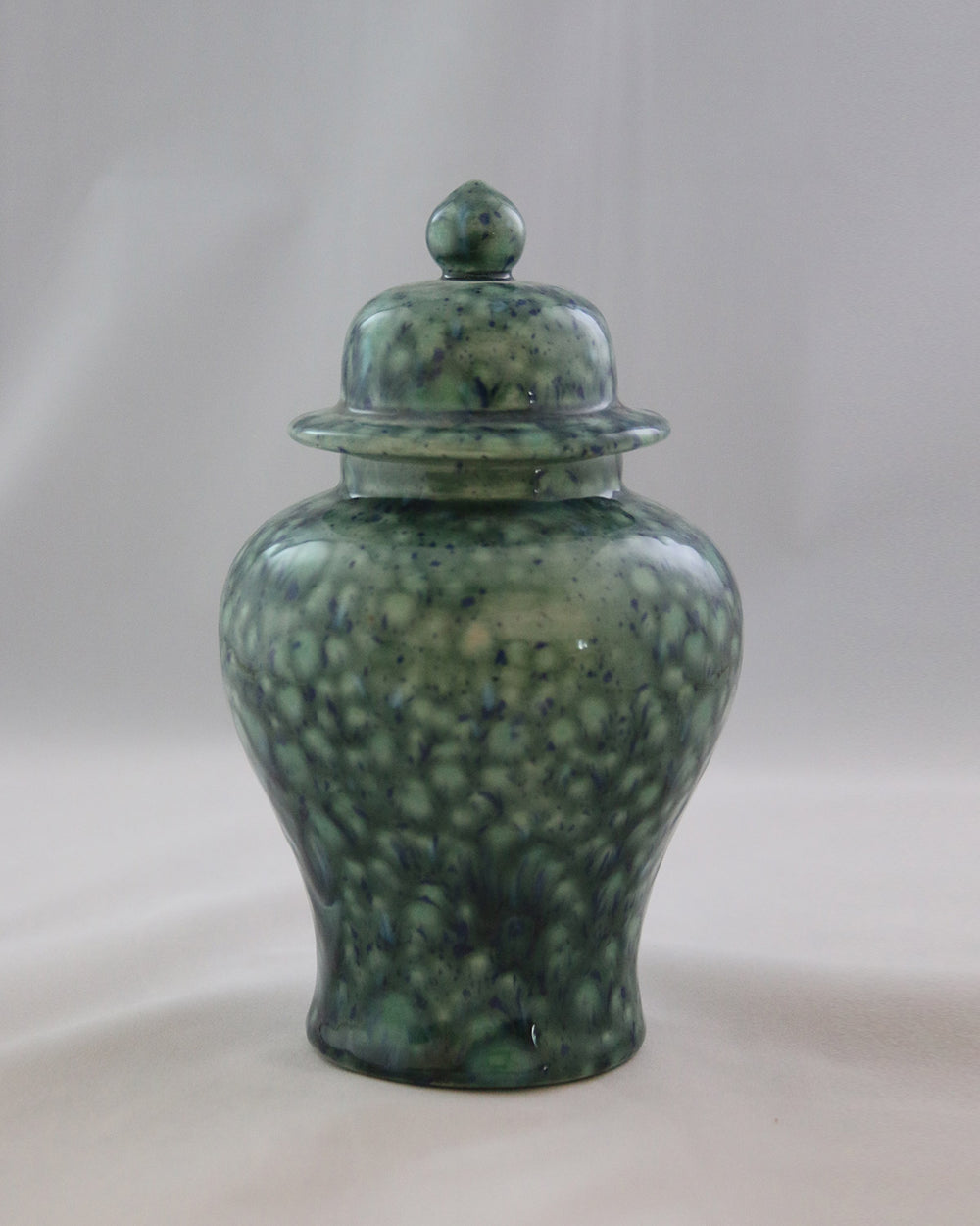Hancrafted Ceramic Urn - Azure - Small