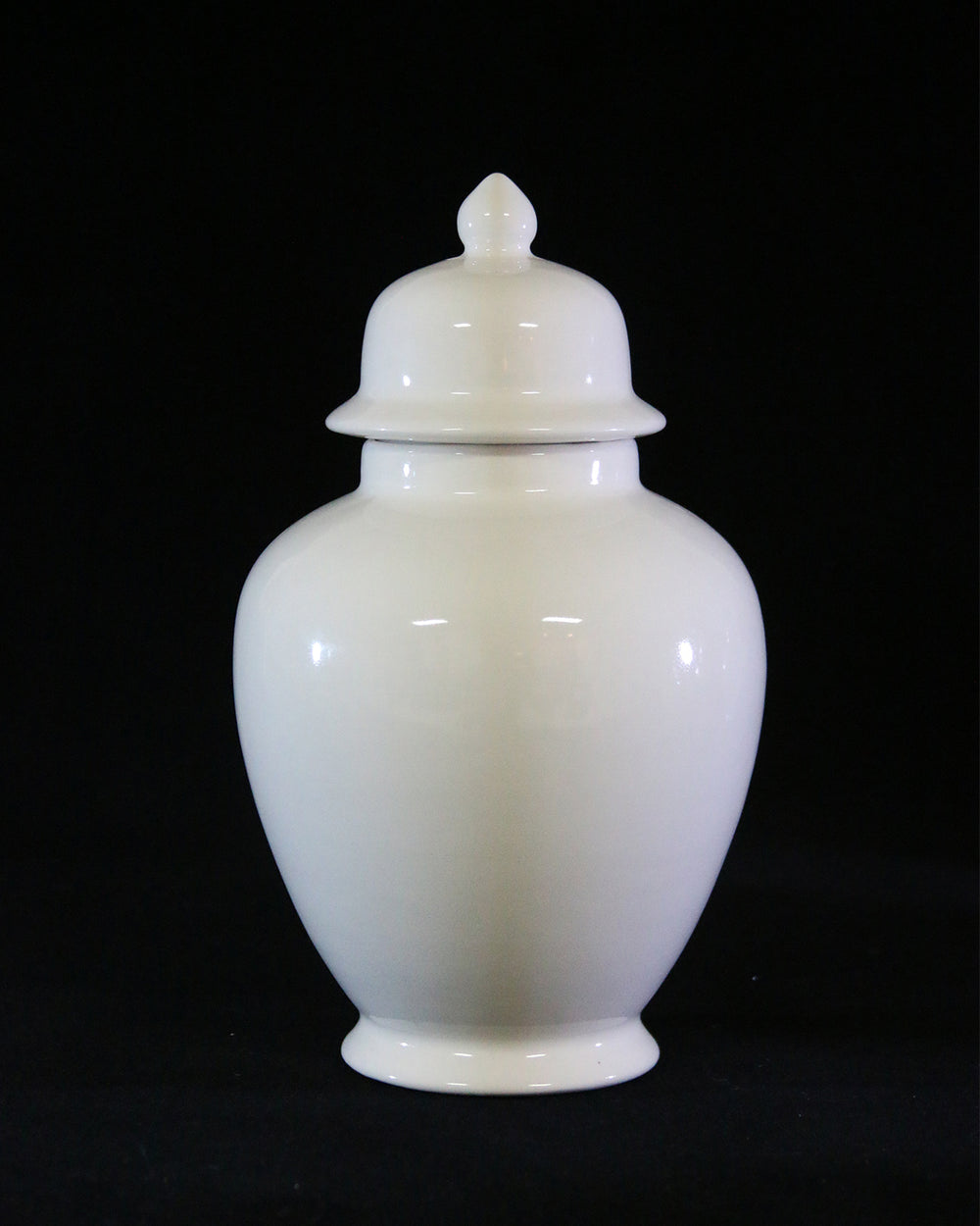 Hancrafted Ceramic Urn - Ivory - Large