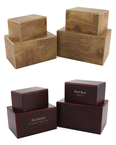 MDF Box Urns - Group
