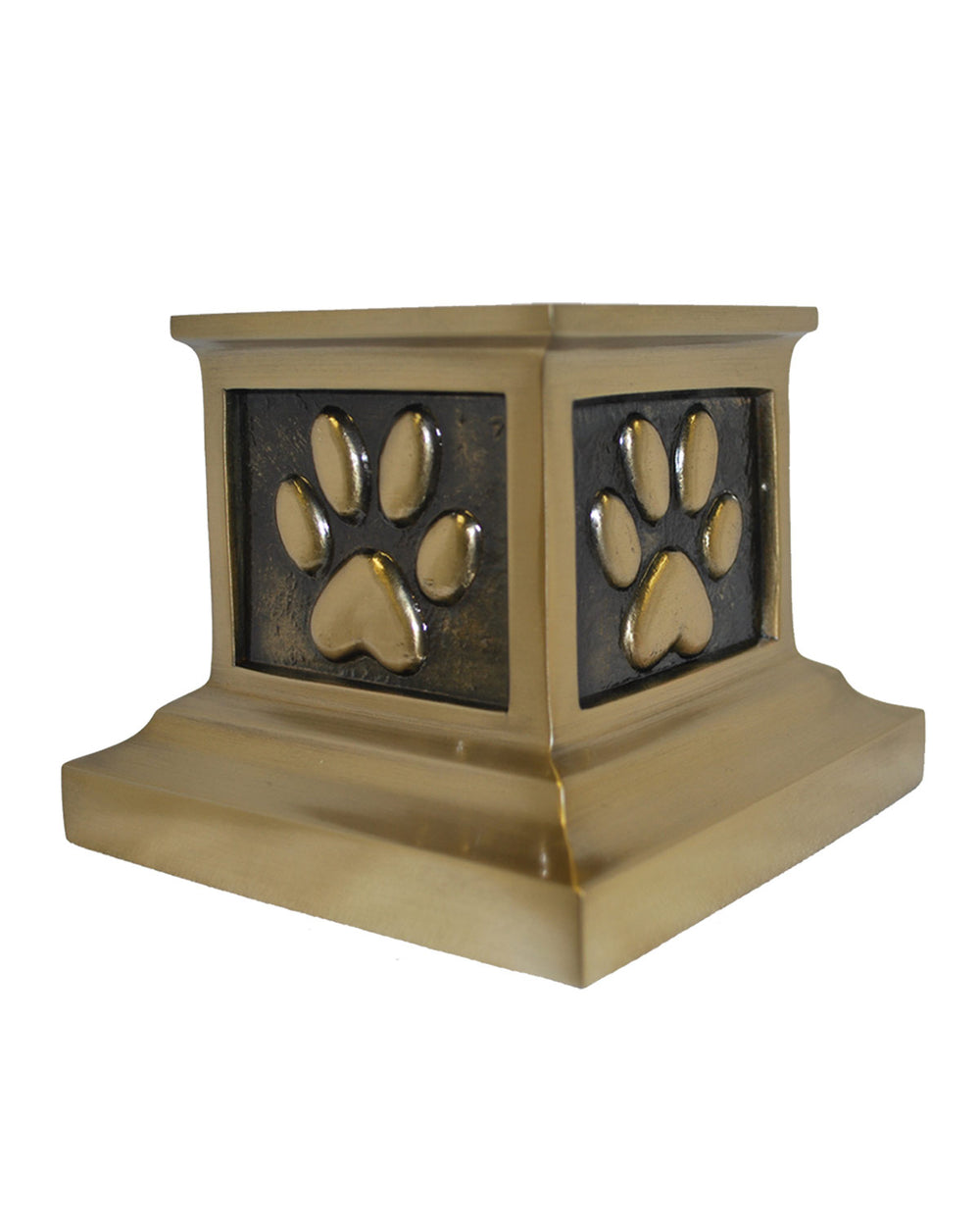 Roman Paws Urn - Antique Bronze