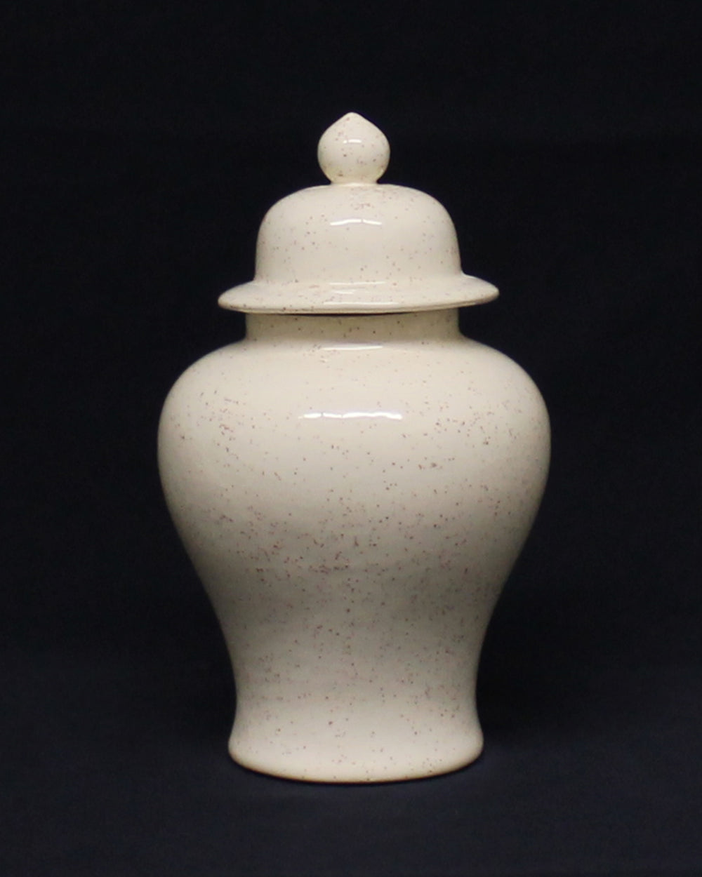 Hancrafted Ceramic Urn - Speckled - Small