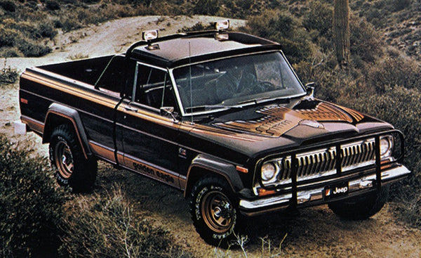 Jeep J10 Truck Weatherstripping