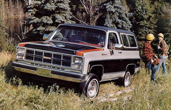 GMC Fullsize Jimmy Weatherstripping