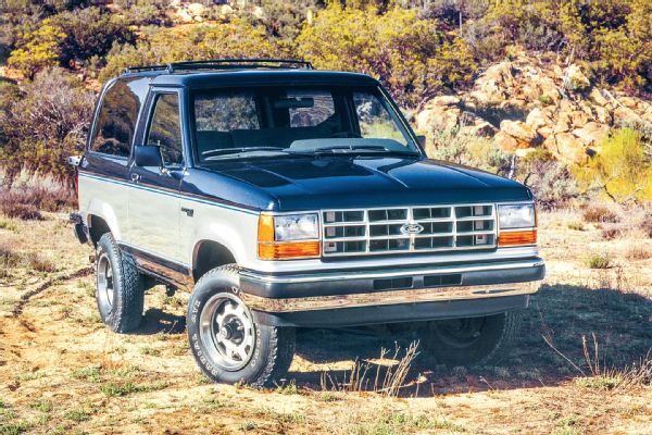 Ford Bronco II Weatherstripping