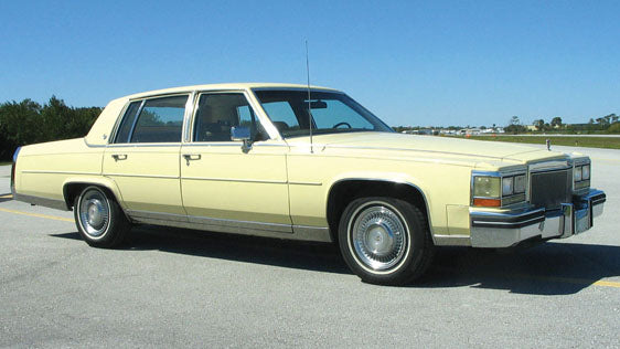 Cadillac Fleetwood Brougham Weatherstripping