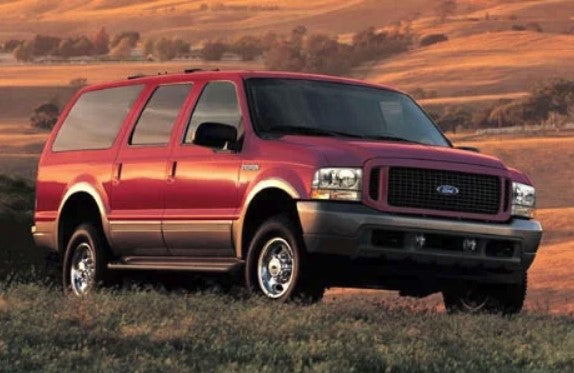 Ford Excursion Weatherstripping
