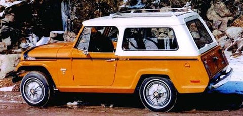 Jeep Jeepster Commando C101, C104 Weatherstripping