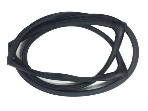D4048 Jeep 1963-1991 Cherokee SJ, Grand Wagoneer, J10, J20 Windshield Seal With Trim Groove - Weather Strip Depot