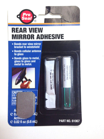 D4093 Jeep 1997-2002 Wrangler TJ Rear View Mirror Adhesive and Bracket - Weather Strip Depot