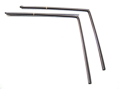 F1009A Glass Run Kit 1966-1977 Ford Bronco Driver Side & Passenger Side - Weather Strip Depot