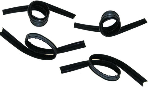 KD1004 Dodge 1970-1997 A100, Fullsize Van Glass Run Kit Front DS & PS - Weather Strip Depot