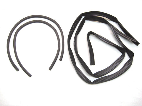 KD1009A Jeep 1976-1986 CJ5, CJ7, CJ8 Scrambler Glass Window Channel Kit, DS & PS - Weather Strip Depot