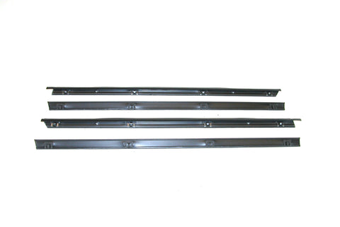 KD2009 Jeep 1976-1986 CJ5, CJ7, CJ8 Scrambler Belt Weatherstrip Kit, Inner & Outer with Stationary Vent - Weather Strip Depot