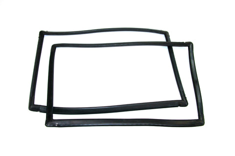 KD4008 Jeep 1984-1996 4 Dr Cherokee XJ Quarter Window Seal Kit, Rear Window DS & PS - Weather Strip Depot