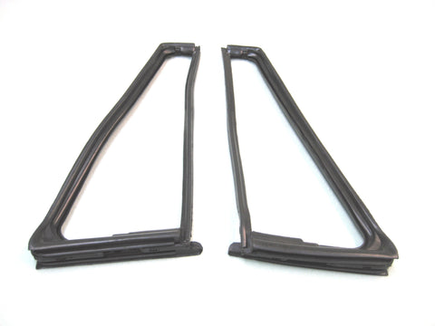 KD4022 Jeep 1976-1995 CJ5, CJ7, CJ8, Wrangler YJ Vent Window Seal Kit, DS & PS with Movable Vent - Weather Strip Depot