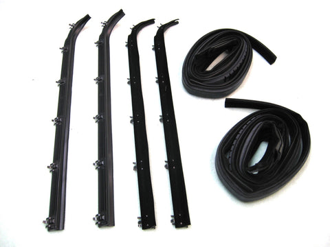 KF1013-8 Belt Weatherstrip Glass Channel Kit for 1975-1980 E150 E250 E350 Van - Weather Strip Depot