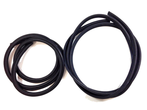 KF3008 1979-1993 Ford Mustang Coupe, Convertible Door Seal - Trunk Seal Kit - Weather Strip Depot