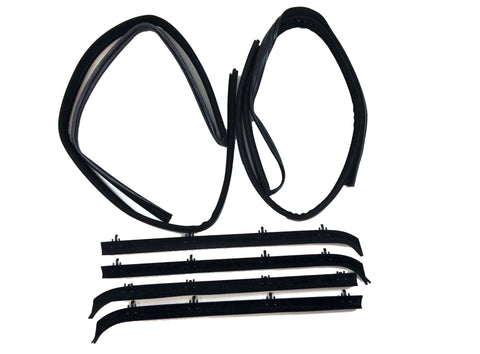 KG1003-6 Chevy GMC Fullsize Van Belt Weatherstrip Window Channel Kit - Weather Strip Depot