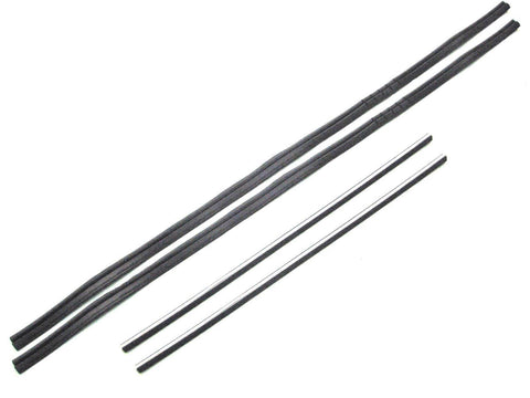 KG1004A Glass Run Window Channel Kit, DS & PS for 1964-1966 Chevy Panel, C/K Pickup - Weather Strip Depot