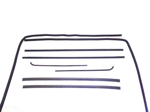 KG1028-8 Belt Weatherstrip Window Channel Kit for 1951-1954 Chevy GMC Pickup - Weather Strip Depot