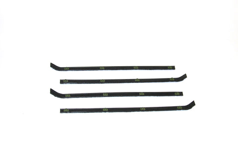 KG2072 Complete Belt Scraper Weatherstrip Kit for 1955-1959 Chevy GMC Pickup with Vent - Weather Strip Depot