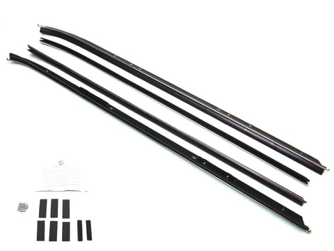 KG2096A Inner Outer Belt Weatherstrip Installation Kit Chrome Bead - Weather Strip Depot