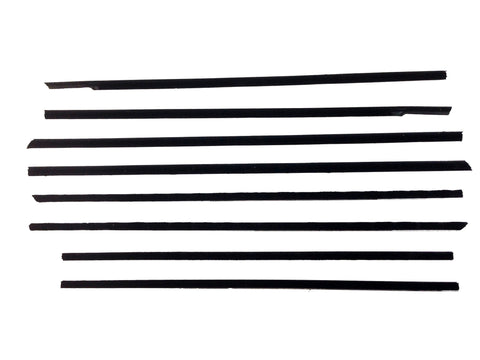 KG2127 1959-1960 Chevrolet Impala 2 Dr Hardtop Belt Weatherstrip Kit - Weather Strip Depot