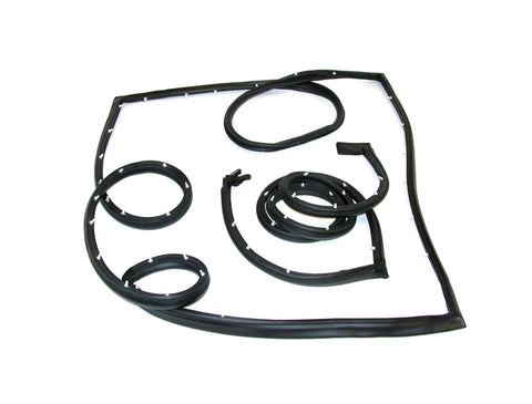 KG3017 Chevy, GMC Fullsize Van Side Cargo Door Kit, Front & Rear Door Seals - Weather Strip Depot
