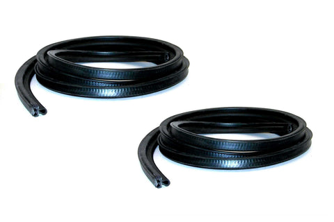 KG3086 Front Door Seal Kit DS and PS S10, S15, Jimmy, Blazer, Envoy, Bravada - Weather Strip Depot