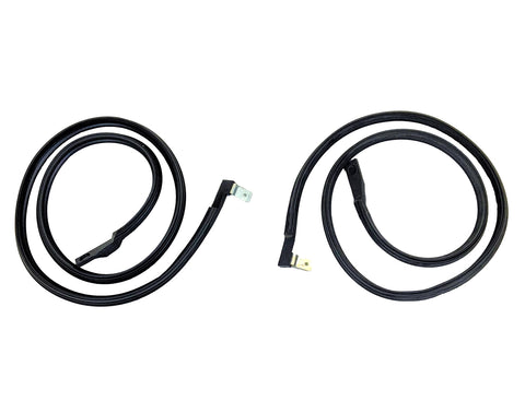 KG3159 Driver & Passenger Side Upper Door Seal Kit for 1978-1982 Chevy GMC C/K Truck, Suburban - Weather Strip Depot
