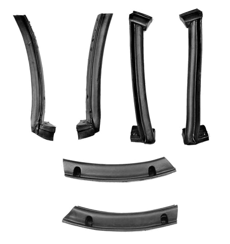 KG4194 1986-1996 Chevrolet Corvette Complete Convertible Top Weatherstrip Kit - Weather Strip Depot