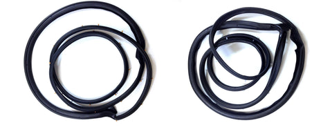 KS3001 Suzuki 1986-1995 Samurai Door Seal Kit Drivers Side & Passenger Side - Weather Strip Depot