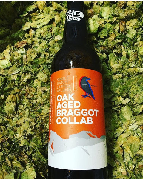New and Unique: Old Yale's Oak Aged Braggot Collab