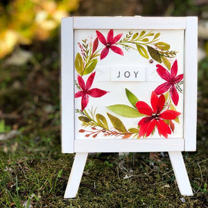 Vibrant Joy Easel Decor