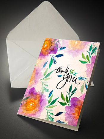 Single Serve (Thank You) Notecards